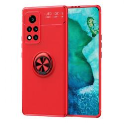 ETUI 3w1 KICKSTAND NA TELEFON HUAWEI HONOR VIEW 40 / V40 5G CZERWONY