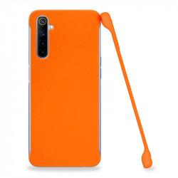 ETUI COBY SMOOTH NA TELEFON REALME X50 POMARAŃCZOWY