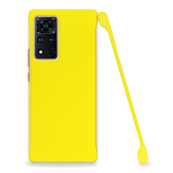 ETUI COBY SMOOTH NA TELEFON HUAWEI HONOR VIEW 40 / V40 5G ŻÓŁTY