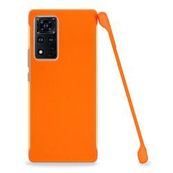 ETUI COBY SMOOTH NA TELEFON HUAWEI HONOR VIEW 40 / V40 5G POMARAŃCZOWY