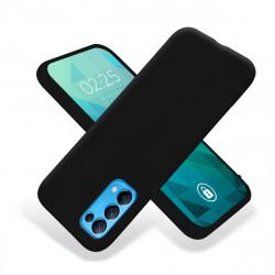 ETUI GUMA SMOOTH NA TELEFON OPPO RENO 5 4G / RENO 5 5G / FIND X3 LITE CZARNY