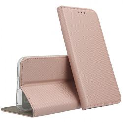 ETUI BOOK MAGNET NA TELEFON SAMSUNG GALAXY A02s / F02s ROSE GOLD