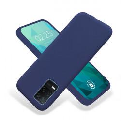ETUI GUMA SMOOTH NA TELEFON REALME 8 5G / V13 5G GRANATOWY
