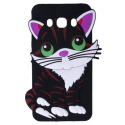 ETUI GUMA 3D FILEMON SAMSUNG GALAXY J5 2016 J510 CZARNY