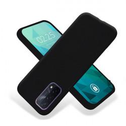 ETUI GUMA SMOOTH NA TELEFON OPPO A54 5G / A74 5G / A93 5G CZARNY
