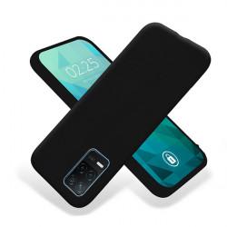 ETUI GUMA SMOOTH NA TELEFON REALME 8 5G / V13 5G CZARNY