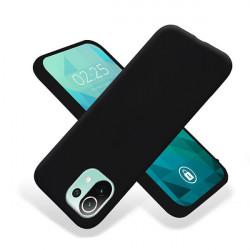 ETUI GUMA SMOOTH NA TELEFON XIAOMI MI 11 LITE 4G / 5G CZARNY