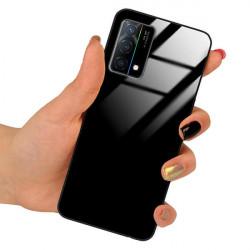 ETUI BLACK CASE GLASS NA TELEFON OPPO K9 CZARNY