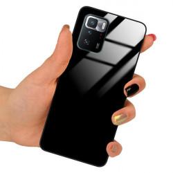 ETUI BLACK CASE GLASS NA TELEFON XIAOMI REDMI NOTE 10 PRO 5G CZARNY