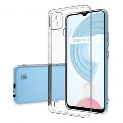 ETUI PROTECT CASE 2mm NA TELEFON REALME C21 TRANSPARENTNY