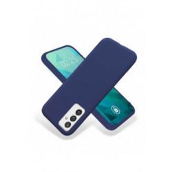 ETUI GUMA SMOOTH NA TELEFON SAMSUNG GALAXY A82 5G GRANATOWY