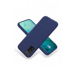 ETUI GUMA SMOOTH NA TELEFON SAMSUNG GALAXY A03S EU GRANATOWY