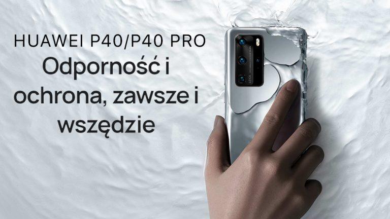 Nowe telefony z serii Huawei P40!