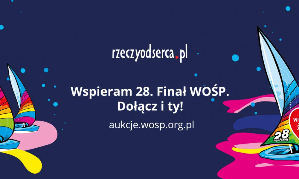 28. Finał WOŚP już gra na Allegro!