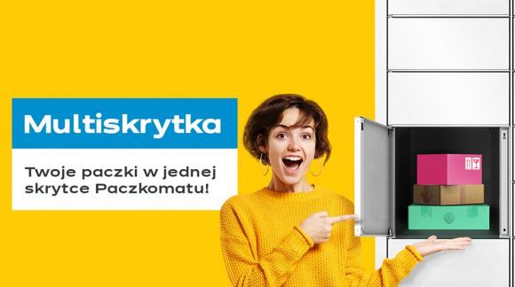 Multiskrytka – nowa funkcjonalność w Paczkomatach 24/7 InPost