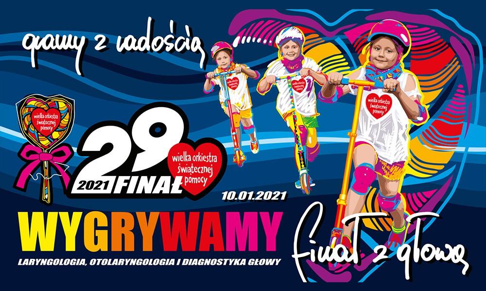 29. Finał WOŚP – Gramy z radością!